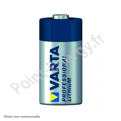 Pile Lithium Varta Photo CR123A 3V