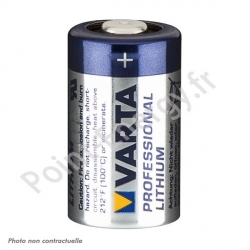 Pile Lithium Varta Photo CR2 3V