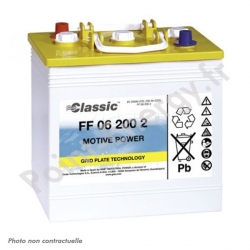 Batterie traction Exide FF06-200-1 6V 180Ah