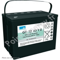 Batterie traction Exide GF12-063 YO 12V 63Ah