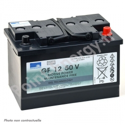 Batterie traction Exide GF12050V 12V 50Ah