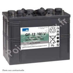 Batterie traction Exide GF12-105V 12V 105Ah