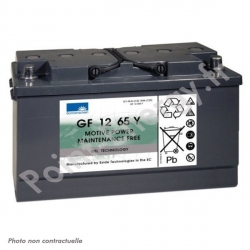 Batterie traction Exide GF12-065 Y 12V 65Ah