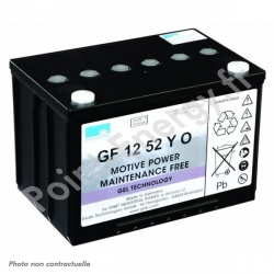 Batterie traction Exide GF12052 Y O 12V 52Ah