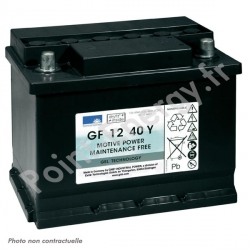 Batterie traction Exide GF12040 Y 12V 40Ah