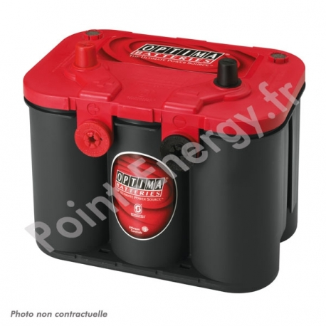 Batterie OPTIMA rouge 12V 50AH 815AEN