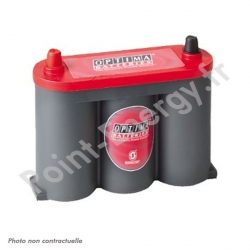 Batterie OPTIMA rouge 6V 50AH 815AEN +G