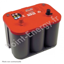 Batterie OPTIMA rouge 12V 50AH 815AEN +G