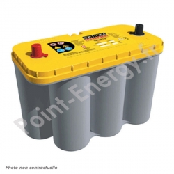 Batterie OPTIMA jaune 12V 75AH 975AEN