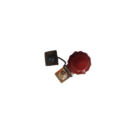 Cosse Batterie Positive Type ARELCO (+) Rouge