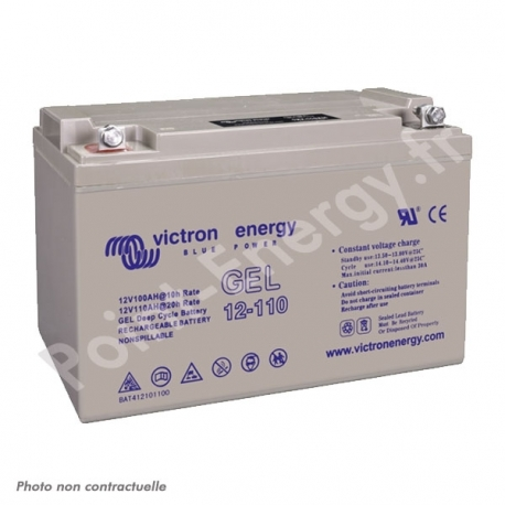 Batterie gel Victron Energy 12V 110Ah