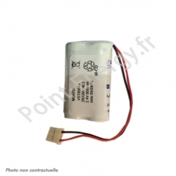 Batterie de secours 2.4V 800mAh Ni-Cd - SAFT