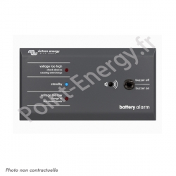 "Tableau ""Battery Alarm"" Victron Energy"