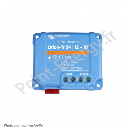 Convertisseur DC/DC Orion-Tr 24/12/10A 120W IP43 - Victron Energy