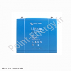 Batterie 12.8V 60Ah 768Wh au Lithium Fer Phoshphate  (LiFePO4)