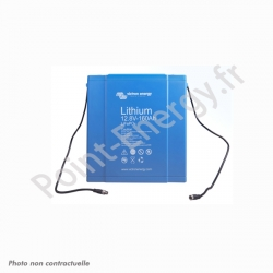 Batterie 12.8V 160Ah 2048Wh au Lithium Fer Phoshphate  (LiFePO4)