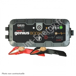 Booster lithium 12V 400A - Noco Genius Boost Sport
