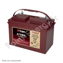 Batterie traction Trojan 27 TMX 12V 85Ah