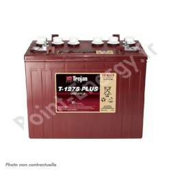 Batterie traction Trojan T1275PLUS 12V 120Ah