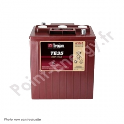 Batterie traction Trojan TE35 6V 200Ah