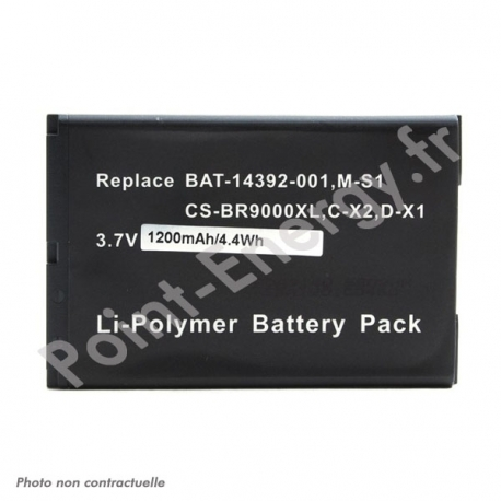 Batterie pour PDA Blackberry 9000 3.7V 1200mAh